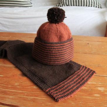 Le bonnet et l'écharpe du jeune Monsieur A.