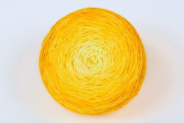 Fleur aux pétales d'Or - Merino Nylon