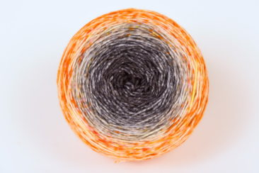 Du baume au coeur Orange - Merino Nylon