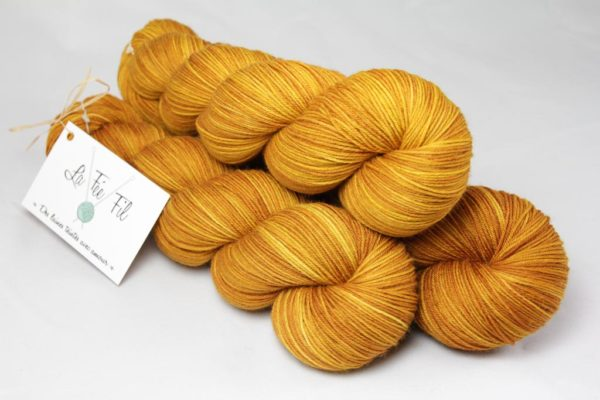 Au nez moutarde - Merino & Nylon - Fingering